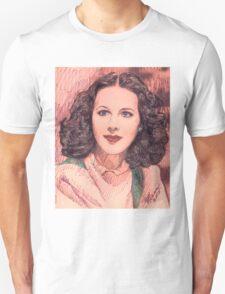 PORTRAIT OF HEDY LAMARR Unisex T-Shirt