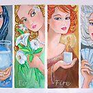 The Four Elements by nancy salamouny