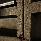 concrete chair by square