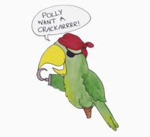 Pirate Parrot! by RubyShoes
