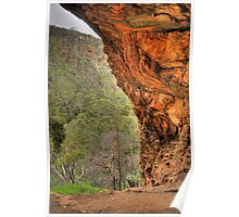 Giants Cave  Lookout - Morialta S.A. Poster