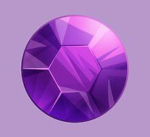 Amethyst gem - Steven Universe by ShinePaw
