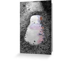 Dissolving in NOW Greeting Card
