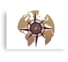 The Roesetta Compass Canvas Print