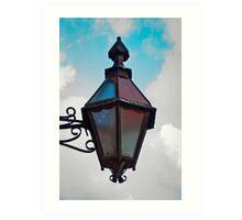 The Lamp Lighter Art Print