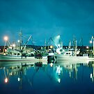 Bermagui harbour by William Murray
