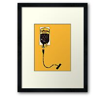 Caffeine IV Framed Print