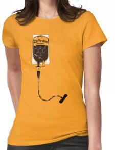 Caffeine IV Womens Fitted T-Shirt