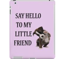 Say Hello to My Little Friend iPad Case/Skin