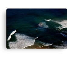Surf Challenge Canvas Print