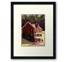 Railroad Post Office Framed Print