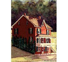 Railroad Post Office Photographic Print