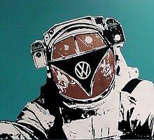 VW space man by JCLARTWORK