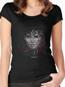 Road the world Women's Fitted Scoop T-Shirt