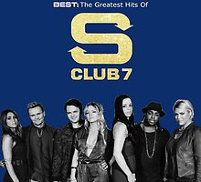 S club 7 Best Greatest Hits Design Products by Fan-Merchandise