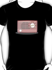 Retro pink radio T-Shirt