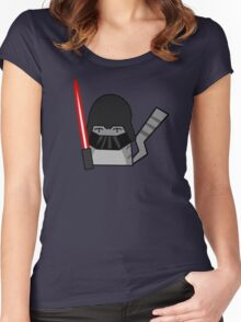Vader Cat Women's Fitted Scoop T-Shirt