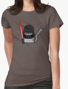 Vader Cat Womens Fitted T-Shirt