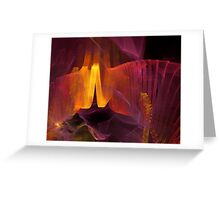 abstract artistic background  Greeting Card