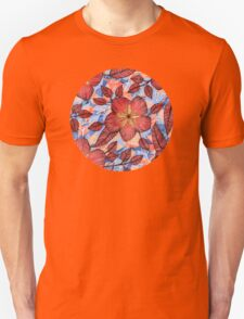 Coral Summer - a hand drawn floral pattern T-Shirt