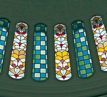 Cupola Stained Glass by phil decocco