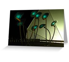 Lunar Trees Solar Powered Greeting Card