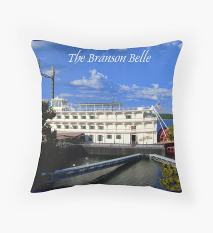 The Branson Belle Throw Pillow