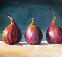 Three Figs by Tracey Boulton