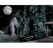Past Midnight .. The lonely ghost Photographic Print