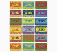 Psychedelic Mix Tapes by Artberry