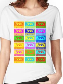Psychedelic Mix Tapes Women's Relaxed Fit T-Shirt