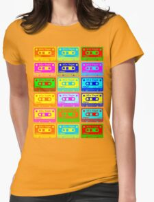 Psychedelic Mix Tapes Womens T-Shirt