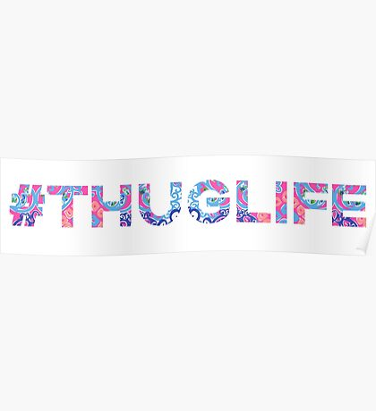 Lilly Thug Life Poster