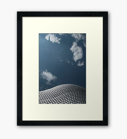 Futurescape Framed Print