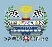 Chase for the Mushroom Cup One Piece - Short Sleeve