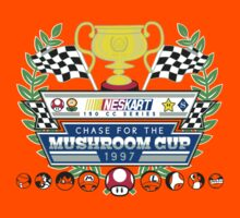Chase for the Mushroom Cup Kids Clothes