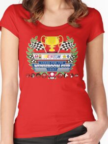 Chase for the Mushroom Cup Women's Fitted Scoop T-Shirt