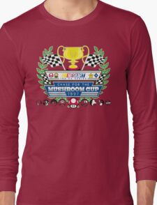 Chase for the Mushroom Cup Long Sleeve T-Shirt