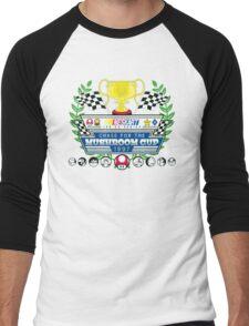 Chase for the Mushroom Cup Men's Baseball ¾ T-Shirt