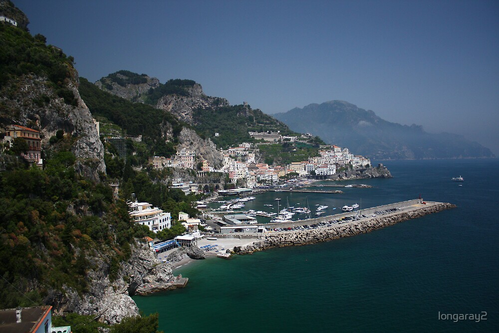 Amalfi Partial View by longaray2