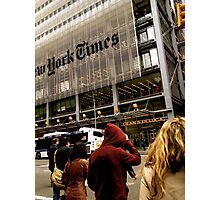 new york times building Photographic Print