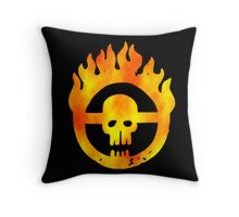Road of Fury Throw Pillow
