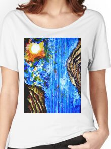 Oriental Waterfall Women's Relaxed Fit T-Shirt