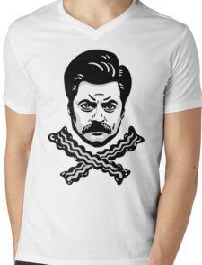 Jolly Swanson Mens V-Neck T-Shirt