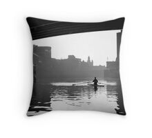 Of commerce, transportation and pleasure Throw Pillow