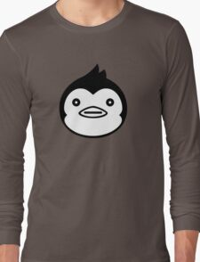 Mawaru Penguindrum - B/W Penguin Long Sleeve T-Shirt