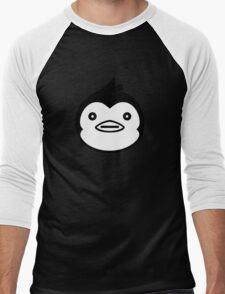 Mawaru Penguindrum - B/W Penguin Men's Baseball ¾ T-Shirt