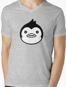 Mawaru Penguindrum - B/W Penguin Mens V-Neck T-Shirt
