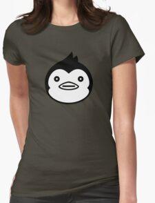 Mawaru Penguindrum - B/W Penguin Womens Fitted T-Shirt