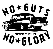 hot rod chevy drag racer Chevrolet car motoring cool retro   by lowgrader
